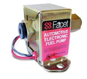 Facet electronic fuel pump, general use